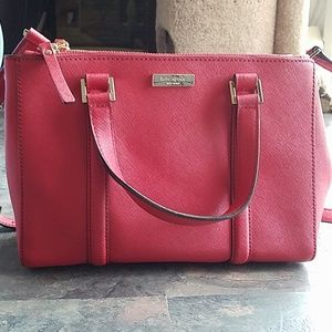 Authentic Kate Spade Leather Crossbody Tote